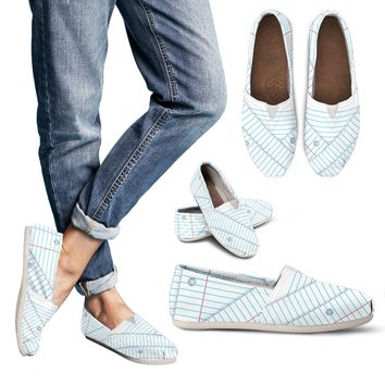 Binder Paper Casual Shoes
