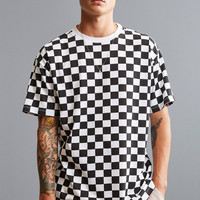 UO Checkerboard Tee | Urban Outfitters