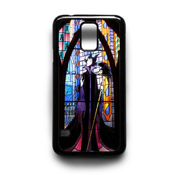 Maleficent in Stained Glass Samsung S5 S4 S3 Case By xavanza