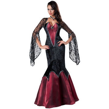 Zombie Witch Party Costume Cosplay Anime Cosplay Apparel Holloween Costume [9220287236]