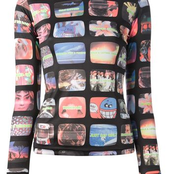 Walter Van Beirendonck Vintage 'Trash TV' top