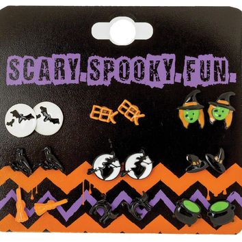 Earrings With -spooky Character prop accessories Halloween 2017