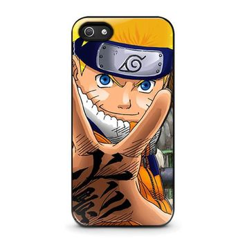 naruto 4 iphone 5 5s se case cover  number 1