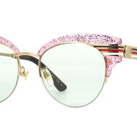 Gucci GG0283S pink/green (006 ZE) Sunglasses