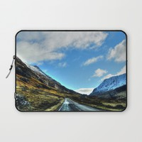 Road Laptop Sleeve by Haroulita | Society6