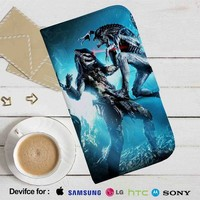 Alien vs Predator Battle Leather Wallet iPhone 4/4S 5S/C 6/6S Plus 7| Samsung Galaxy S4 S5 S6 S7 NOTE 3 4 5| LG G2 G3 G4| MOTOROLA MOTO X X2 NEXUS 6| SONY Z3 Z4 MINI| HTC ONE X M7 M8 M9 CASE