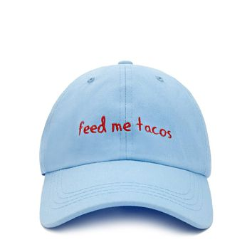 Feed Me Tacos Embroidered Cap