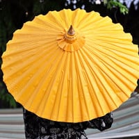 Yellow Thai Umbrella