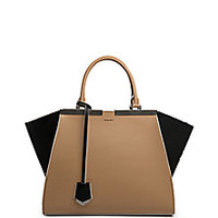 Fendi - 3Jours Bicolor Leather Shopper - Saks Fifth Avenue Mobile