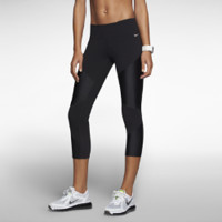 Nike Strut Crop Women's Running Tights - Black