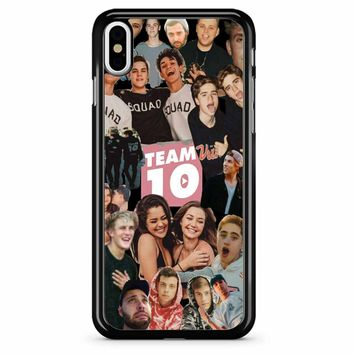 Jake Paul Team 10 iPhone X Case
