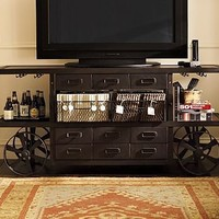 Sheffield Media Cart | Pottery Barn