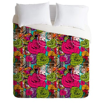 Aimee St Hill Bright Roses Duvet Cover