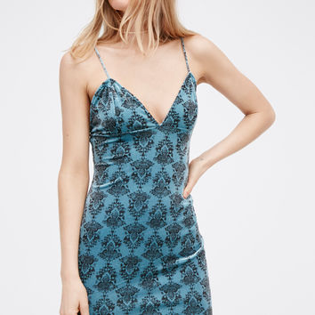 Free People Say It Twice Velvet Slip