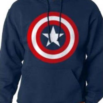 Captain America Pullover Hoodie - Shield