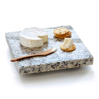 Granite Cheese Board With Spreader