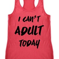 No Adulting Allowed Tank Top