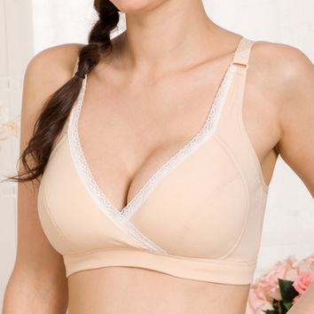 Women Pregnant Maternity Bra Nursing Bras Feeding Bra Sleep Tops Vest New Arrival