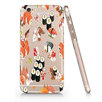 Sushi Japanese Food Slim Iphone 6 6S Case, Clear Iphone 6 6S Hard Cover Case For Apple Iphone 6/6S -Emerishop