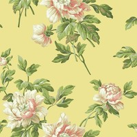 York Wallpaper BA4614 Document Floral