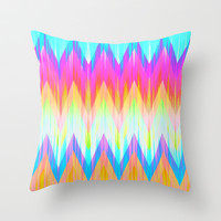 Mix #422 Throw Pillow by Ornaart