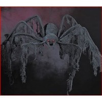 Amazon.com: 4 ft Large Huge Black Creepy Cloth Spider Halloween: Home & Kitchen