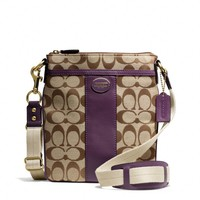 Coach :: New Legacy Swingpack In Signature Fabric