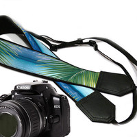 DSLR Camera Strap. Sea Camera Strap. Beach camera strap. Camera accessories. Photographer gift.