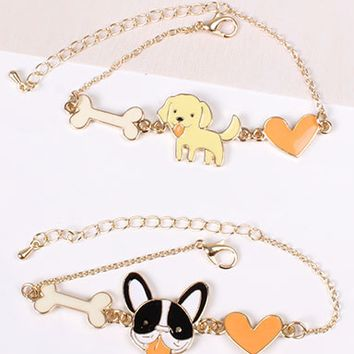 We Love Puppers Bracelet