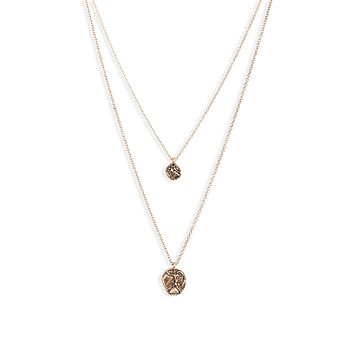 Ancient Coin Charm Necklace