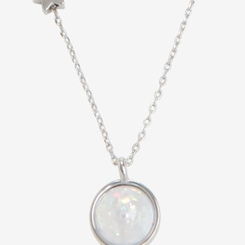 Saturn Planet Necklace