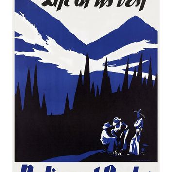 Life At Its Best National Parks Poster
