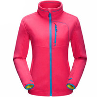 Autumn Winter Multi Color Super Warm Apex Bionic Mountain Full Front Zip Fleece Jacket _ 9217