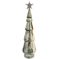 Mercury Glass Tree With Star - Kmart
