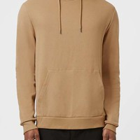 Tan Hoodie - Men's Tops - Clothing