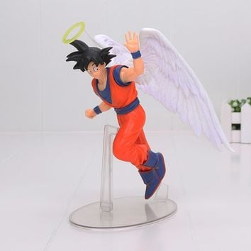 Banpresto Dragon Ball Son Goku PVC Action Figures DRAMATIC SHOWCASE Angel Goku Dragon Ball Z Model Toy Doll Figuras DBZ Gokou