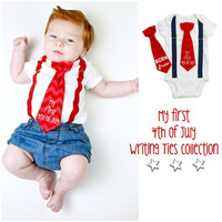 First 4th of July Outfit. My First 4th of July. Newborn 4th of July Outfit. Baby Boy 4th of July. Born Free. 4th of July Newborn. Infant Boy