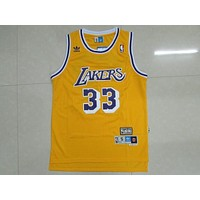 La Lakers #33 Kareem Abdul Jabbar Retro Swingman Jersey | Best Deal Online