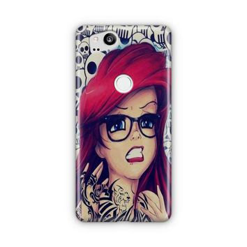 Ariel Tattoo Google Pixel 3 XL Case | Casefantasy