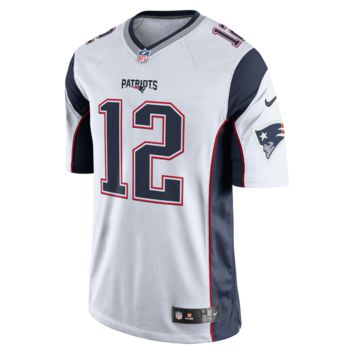Nike NFL New England Patriots (Tom Brady) Men's Football Away Limited Jersey