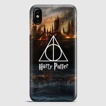 Harry Potter Deathly Hallows Dobby iPhone X Case