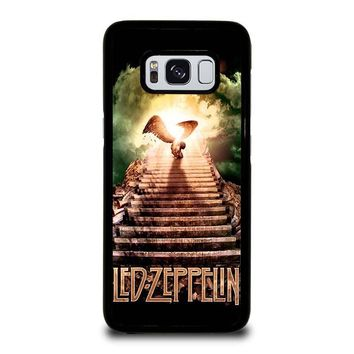 LED ZEPPELIN STAIRWAY TO HEAVEN Samsung Galaxy S3 S4 S5 S6 S7 Edge S8 Plus, Note 3 4 5 8 Case Cover