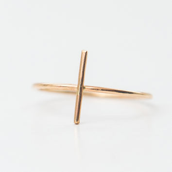 Skinny Bar Ring