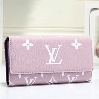Women Leather Multicolor Wallet Purse