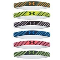 Under Armour UA Graphic Mini Wrist Hairbands - 6pk