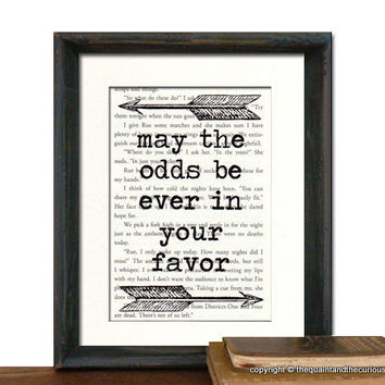 The Hunger Games may the odds be ever in your by QuaintandCurious