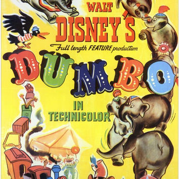 Dumbo 11x17 Movie Poster (1941)