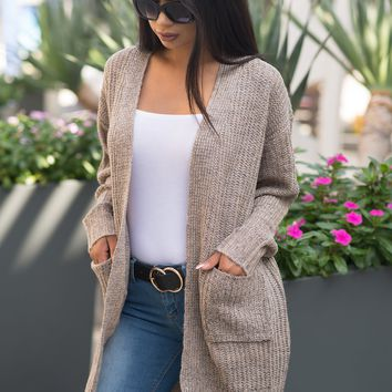 Sierra Cardigan Sweater - Khaki
