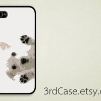 Case iPhone 4 Case iPhone 4s Case iPhone 5 Case white puppy cute