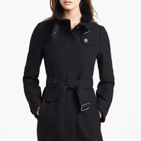 Burberry Brit 'Rushworth' Belted Wool Blend